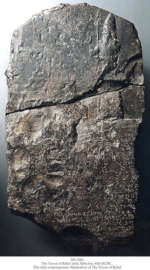 ¿Existió la Torre de Babel? Descubren una  antigua tablilla de piedra que lo confirma 2
