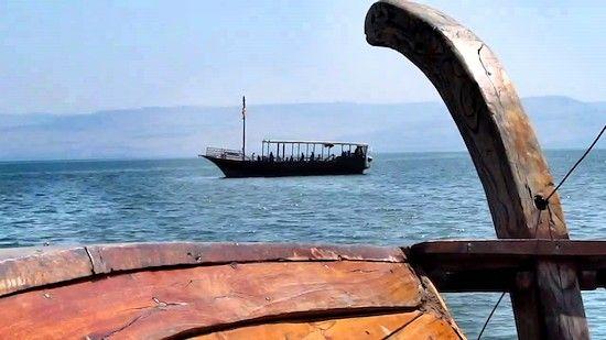 """Mar de Galilea - """"Esto estaban viendo Jesús y los apóstoles"""" 6"""