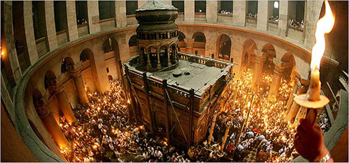 Resultado de imagen de santo sepulcro jerusalen