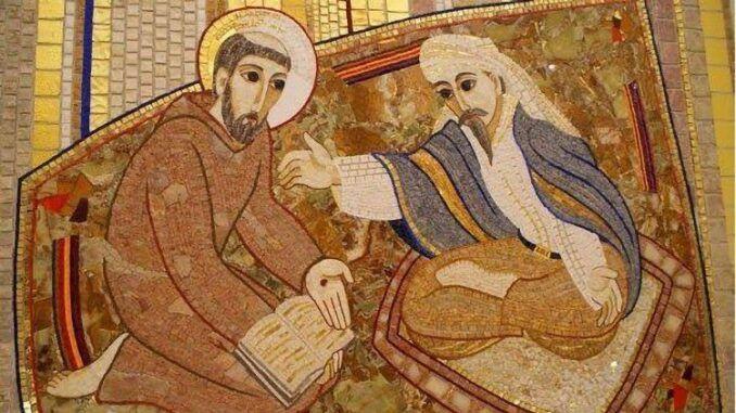 San Francisco y el Sultán Malek al-Kamel